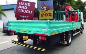 Hardox panel