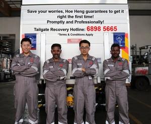 Tailgate staff