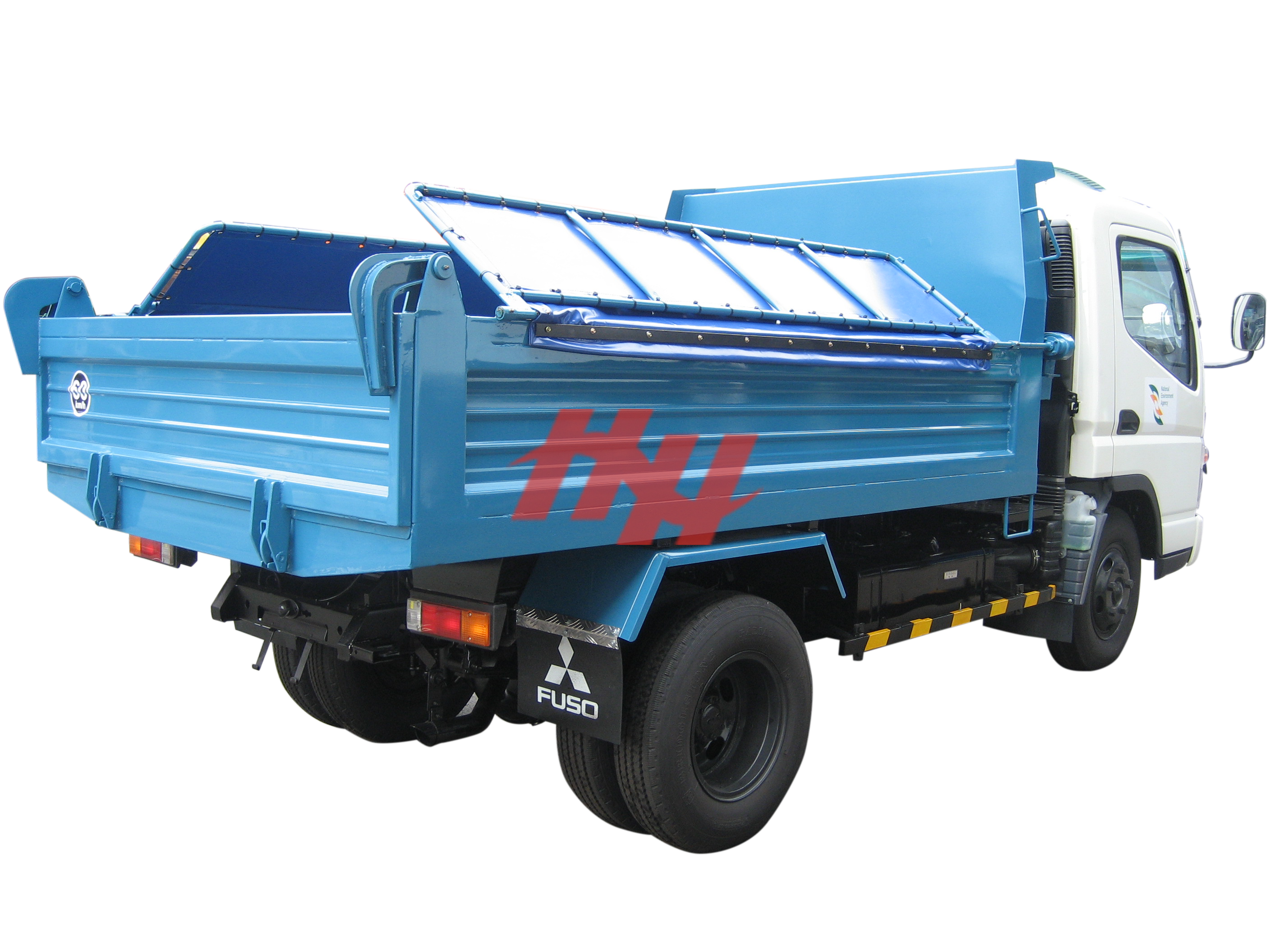12fts tipper body with krm 143 hoist edit