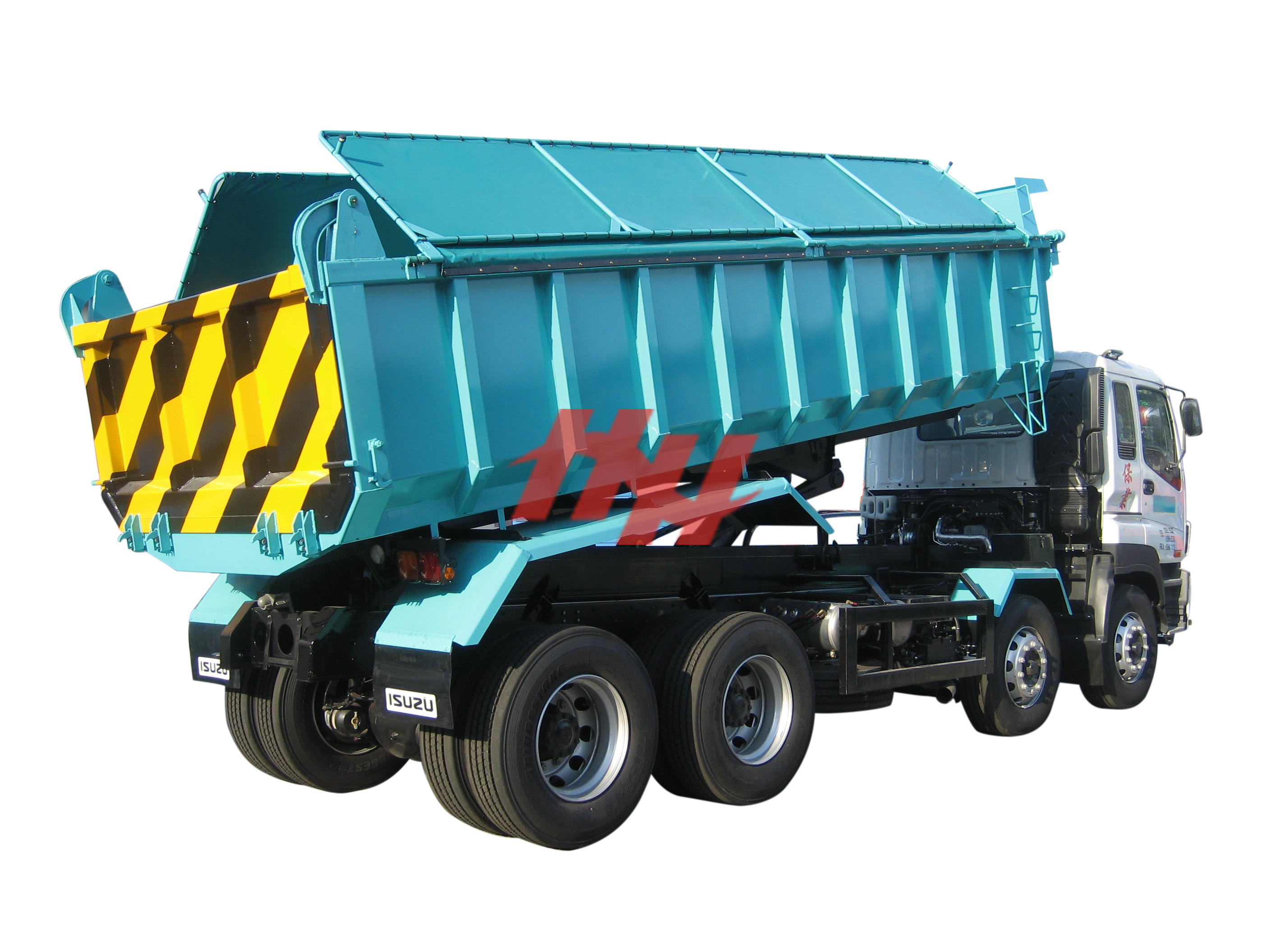 20fts tipper body with krm 220l hoist edit