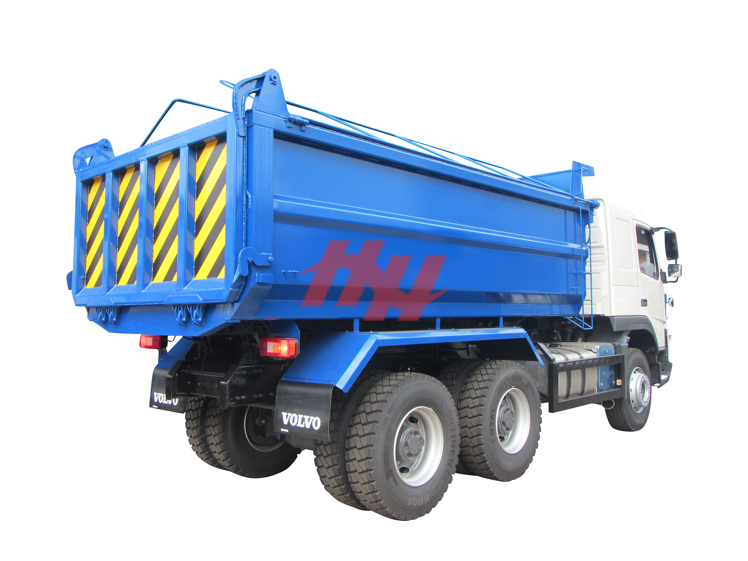 Coroguated hardox tipper body edited