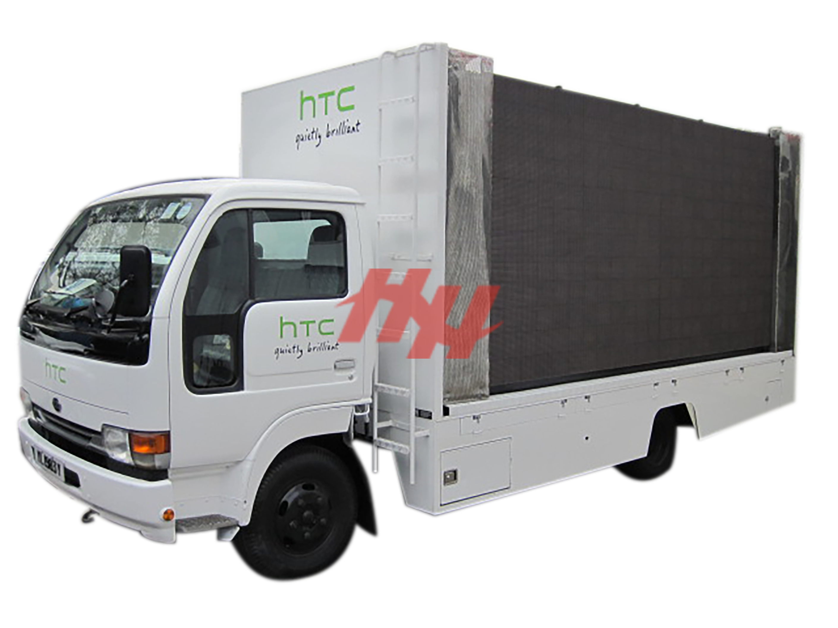 Mobile outdoor advertising led display screen edited