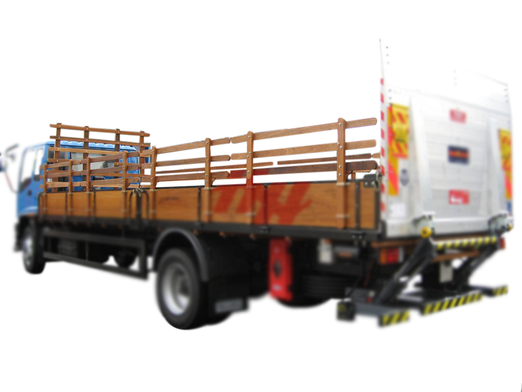 Wooden body with wooden railing  fire extinguisher box and tailgates %28fileminimizer%29 edited